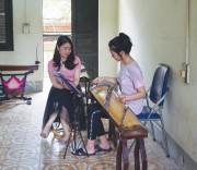 Dù khó khăn thầy và trò Trường Cao đẳng Lào Cai vẫn đang cố gắng vượt qua để hoàn thành chương trình đào tạo.