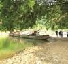 Khu vực xảy ra vụ đuối nước thương tâm khiến 4 em học sinh Trường THCS Quang Kim tử vong.