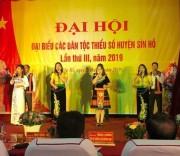 Chương trình văn nghệ chào mừng Đại hội đại biểu các DTTS huyện Sìn Hồ lần thứ III, năm 2019.