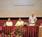 Bộ trưởng, Chủ nhiệm UBDT Đỗ Văn Chiến phát biểu tại Hội thảo Đánh giá chính sách dân tộc giai đoạn 2011-2020 và mục tiêu, nhiệm vụ giai đoạn 2021-2030.