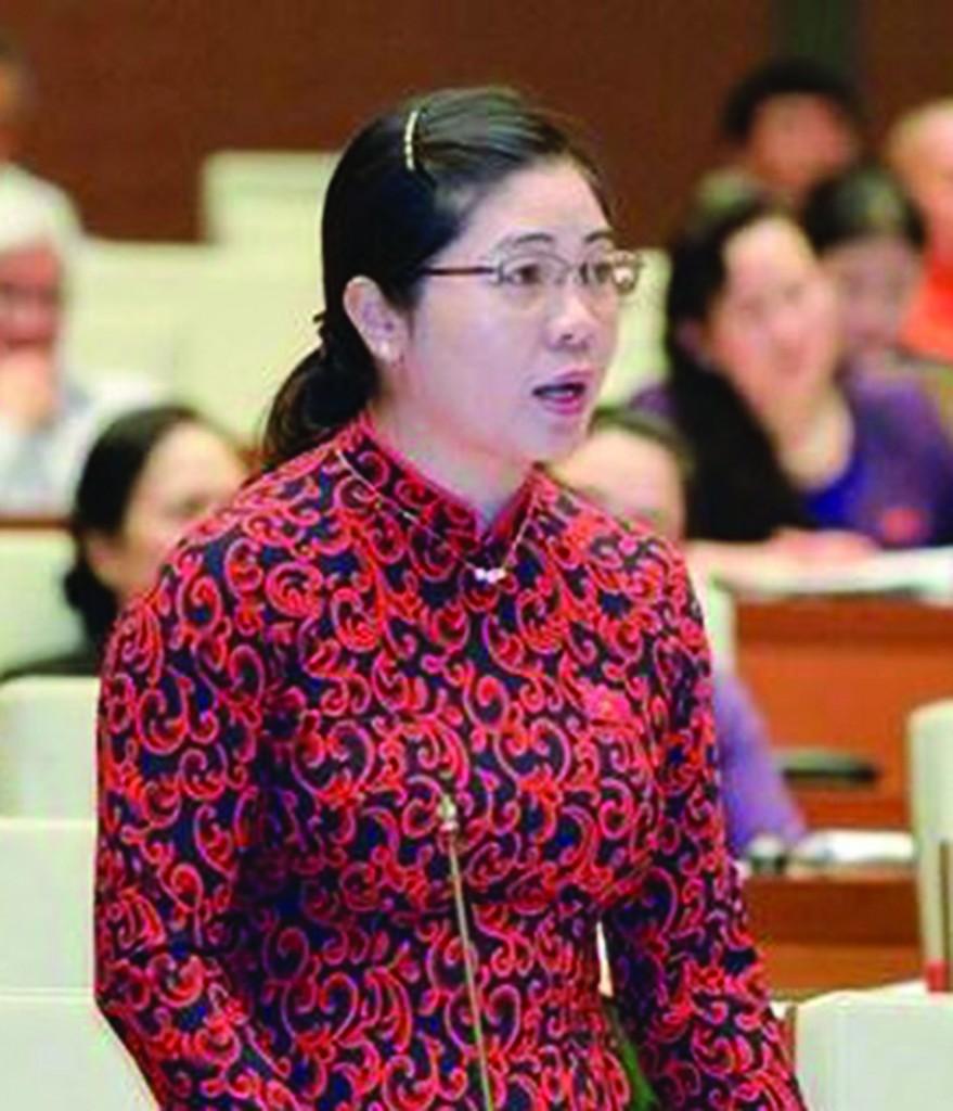 Đại biểu Leo Thị Lịch (Bắc Giang)