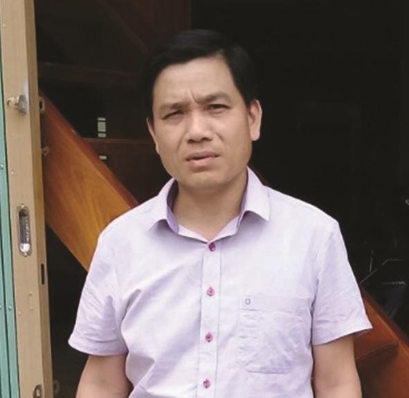 Ông Hà Ngọc Vũ, Phó Chủ tịch xã Linh Phú, huyện Chiêm Hóa, tỉnh Tuyên Quang