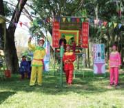 Hội đánh Bài chòi được tổ chức ở nhiều địa phương trong tỉnh Bình Định.