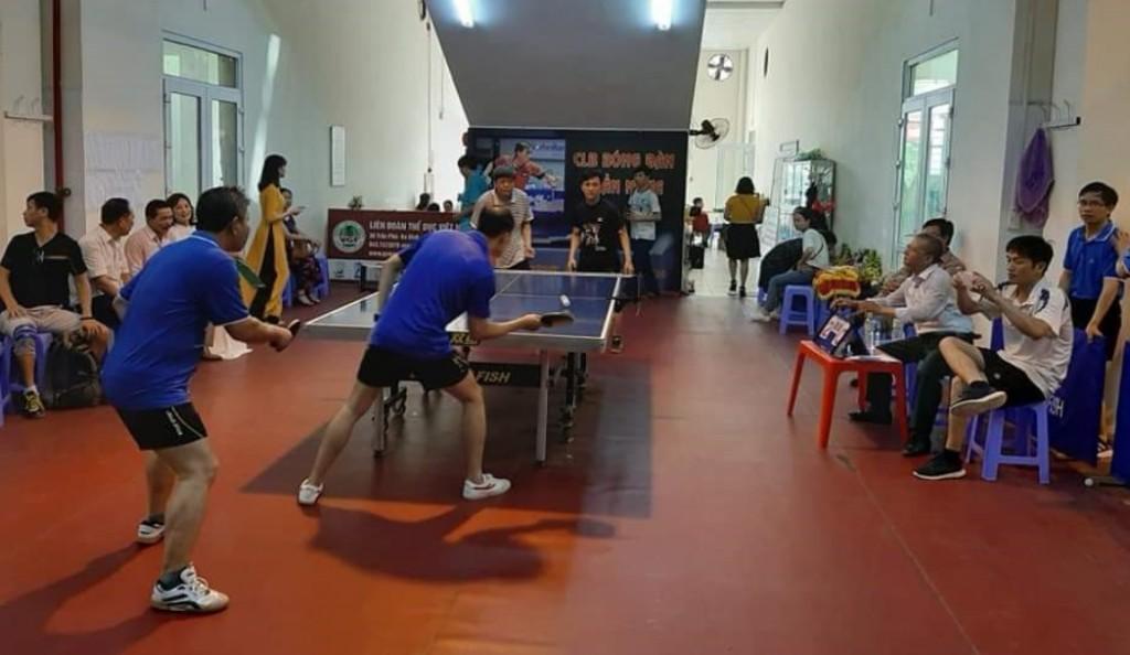 Các VĐV tham gia thi đấu.