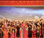 Dệt zèng A Lưới được trình diễn tại Ngày Văn hóa,Thể thao và Du lịch các DTTS các tỉnh vùng biên giới Việt Nam-Lào khu vực miền Trung và Tây Nguyên năm 2019.