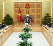 Thủ tướng Nguyễn Xuân Phúc gặp mặt Đoàn đại biểu Ban Chấp hành Trung ương Hội Doanh nhân tư nhân Việt Nam