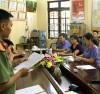 Cơ quan An ninh Điều tra - Công an tỉnh Hà Giang đọc lệnh bắt tạm giam đối với Nguyễn Thanh Hoài, Trưởng phòng Khảo thí và Quản lý Chất lượng thuộc Sở GD&ĐT tỉnh Hà Giang
