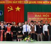 Đoàn Đại biểu huyện Krông Nô được bầu đi dự Đại hội Đại biểu DTTS cấp tỉnh.