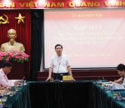 Thứ trưởng, Phó Chủ nhiệm UBDT Lê Sơn Hải chủ trì buổi Gặp mặt Đoàn đại biểu Người có uy tín tỉnh Sóc Trăng.