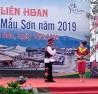 Các tiết mục văn nghệ chào mừng Liên hoan Du lịch Mẫu Sơn năm 2019.
