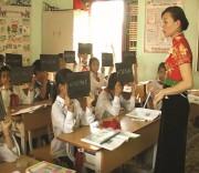 Lớp dạy học tiếng Thái trong Trường Tiểu học theo Đề án của UBND tỉnh Điện Biên. Lớp dạy học tiếng Thái trong Trường Tiểu học theo Đề án của UBND tỉnh Điện Biên.