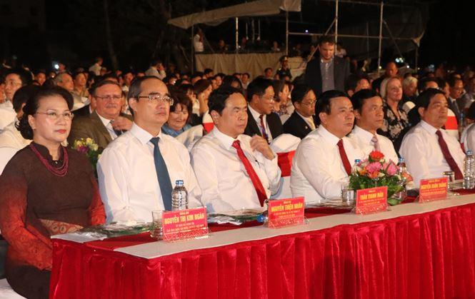 Chủ tịch Quốc hội Nguyễn Thị Kim Ngân về dự Lễ kỷ niệm 30 năm tái lập tỉnh Phú Yên