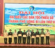 Đại hội Đại biểu các DTTS thành phố Uông Bí