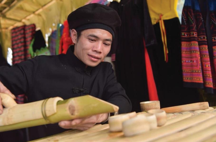 Anh Chẩu Thanh Phương Giám đốc HTX An Nhiên Phát.