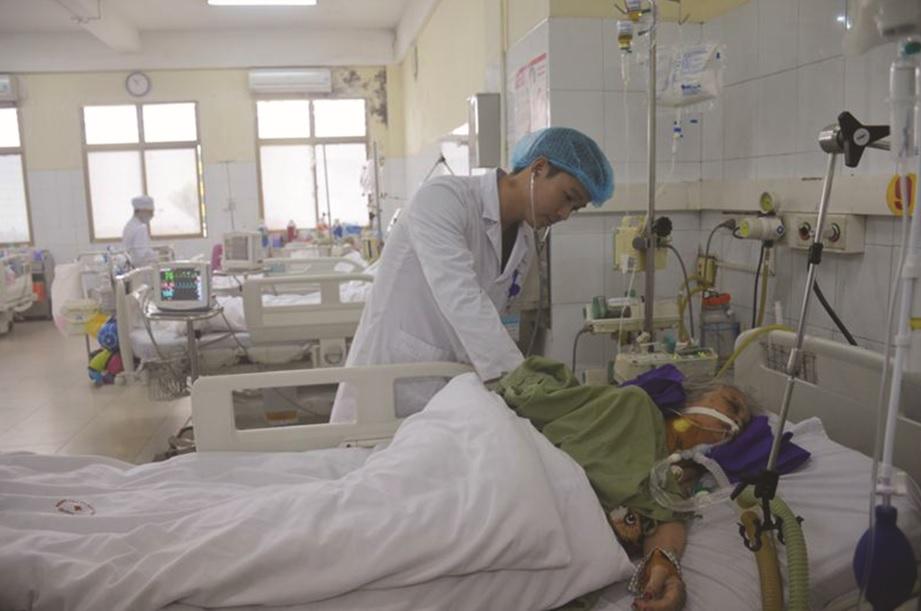 Cần tăng cường an ninh bệnh viện cho cả đội ngũ y bác sĩ và bệnh nhân. Ảnh (TL)