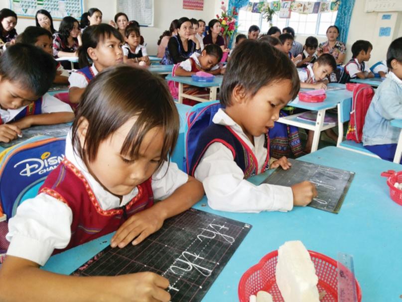 Chương trình GDPT mới bậc tiểu học sẽ giúp trẻ em DTTS không bị thiệt thòi trong việc tiếp cận kiến thức so với học sinh các vùng miền khác.