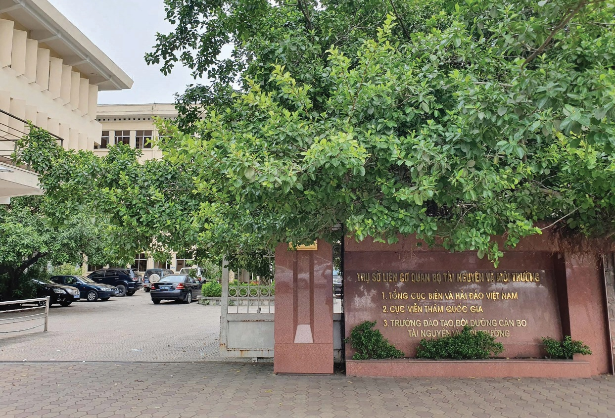 Trụ sở liên cơ quan Bộ Tài nguyên và Môi trường.