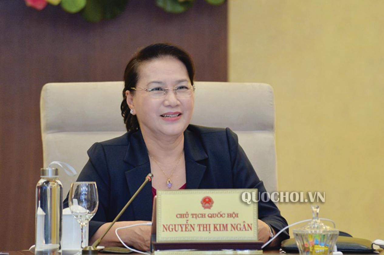 Chủ tịch Quốc hội Nguyễn Thị Kim Ngân. Ảnh: Quochoi.vn