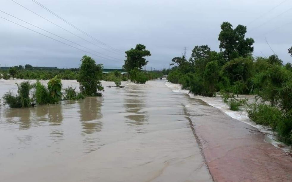 Tình trạng ngập lụt tại Đăk Lăk