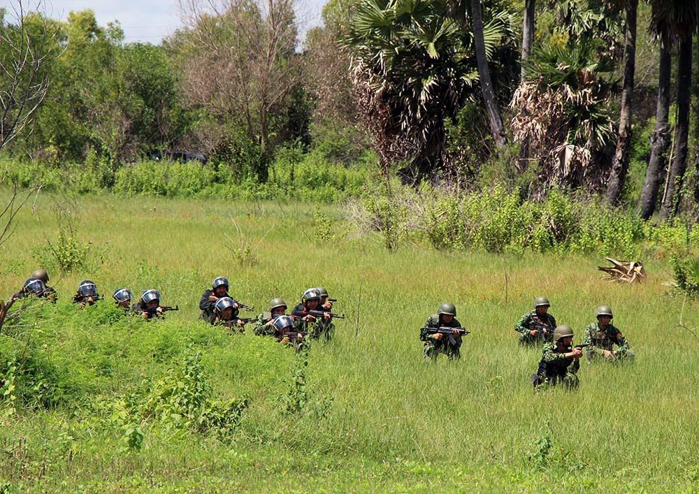 Việt Nam - Campuchia tham gia diễn tập liên hợp đấu tranh phòng chống tội phạm ma túy.