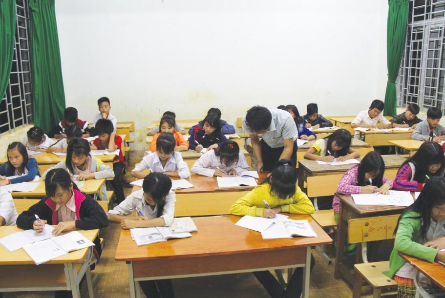 Nhiều trường học ở Đăk Nông thiếu giáo viên.
