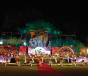 Các tiết mục văn nghệ được trình diễn tại Lễ hội Thành Tuyên 2019  với chủ đề Lung linh sắc màu đêm hội Thành Tuyên.
